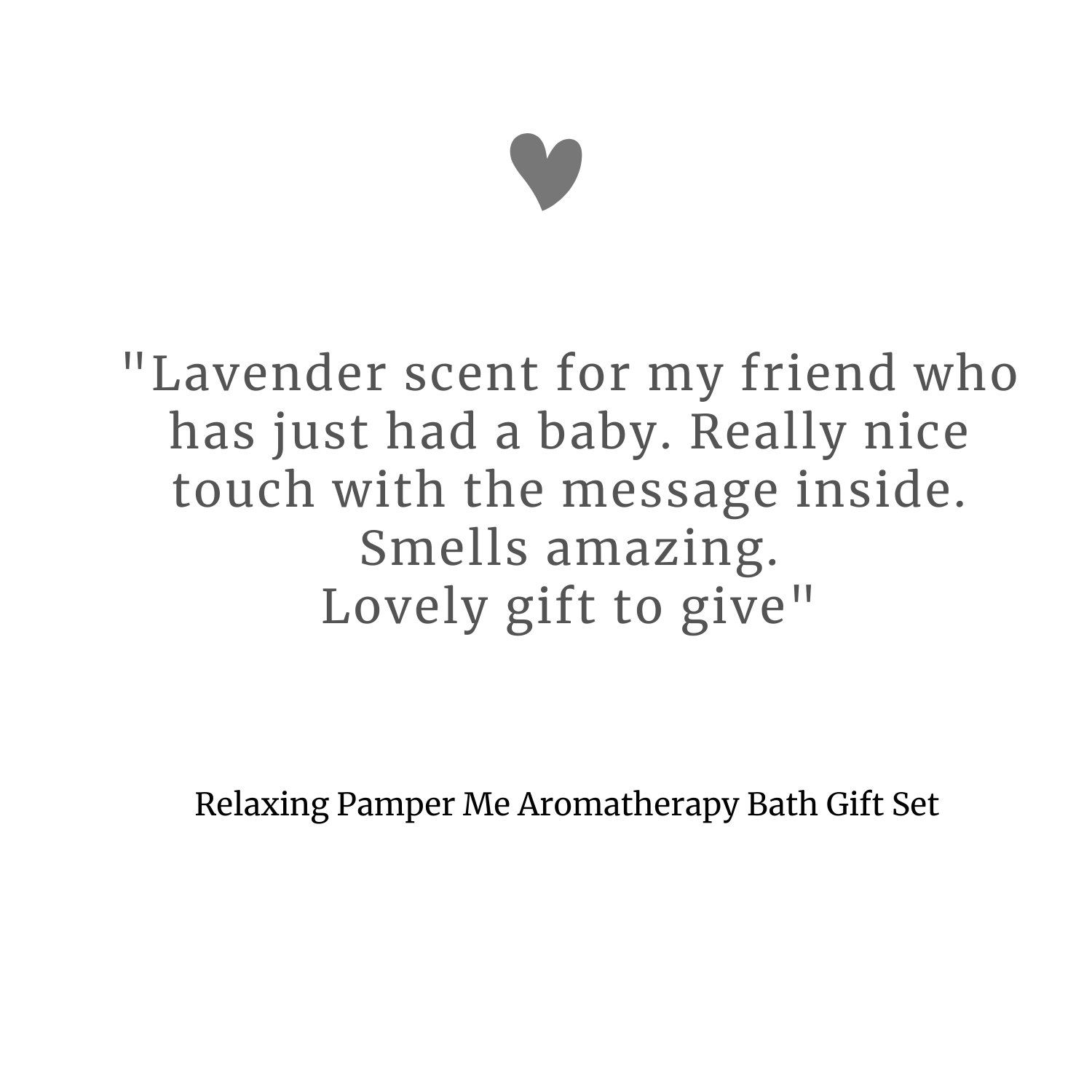 relaxing pamper me bath gift Lovely Soap Co