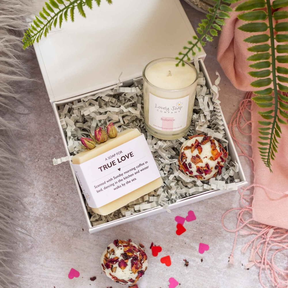 Valentines Pamper Gift Lovely Soap Co