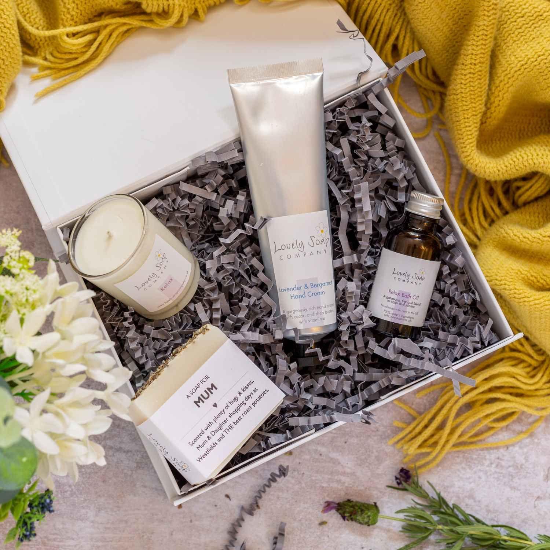 Mum's Spa Gift Set Lovely Soap Co