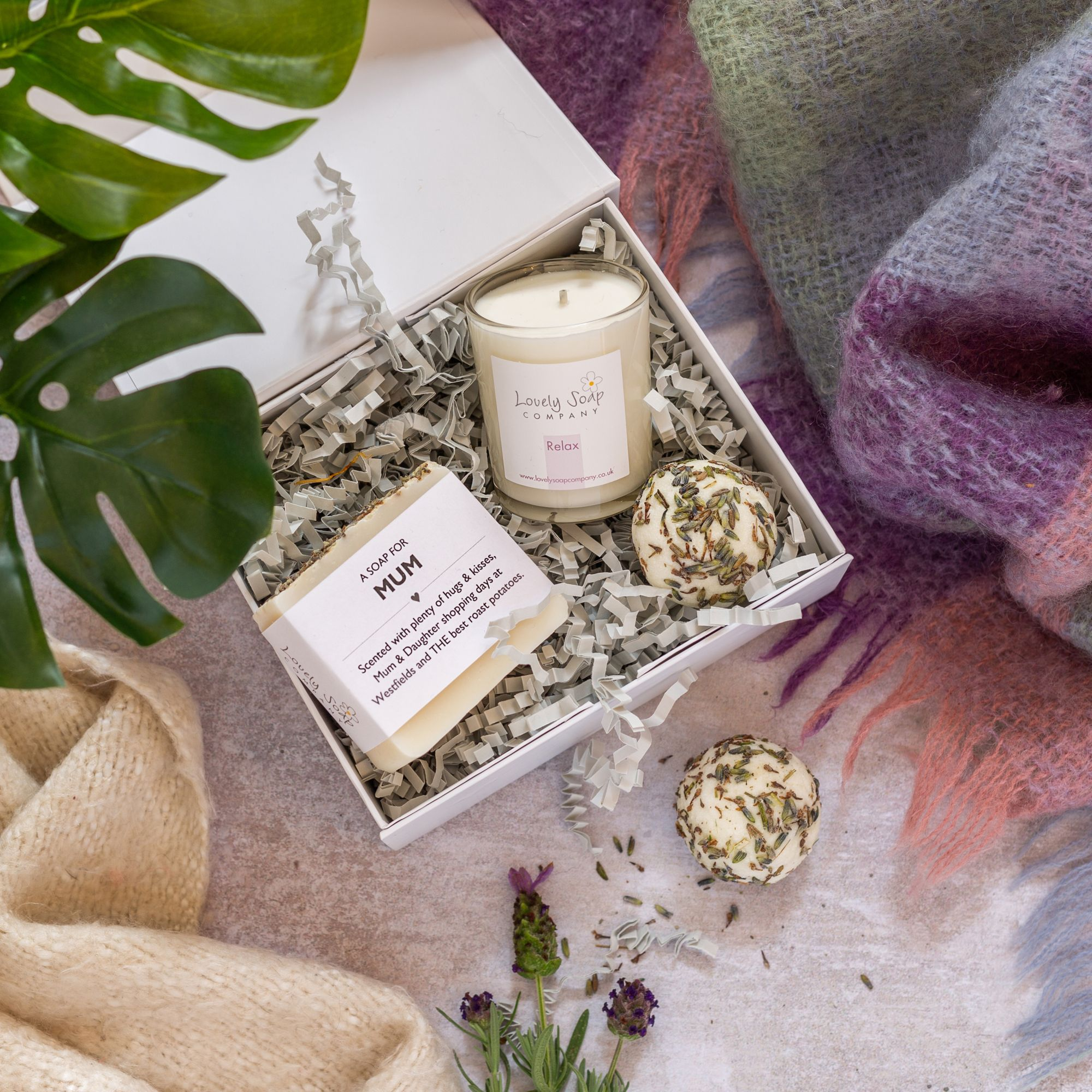 mum pamper gifts Lovely Soap Co