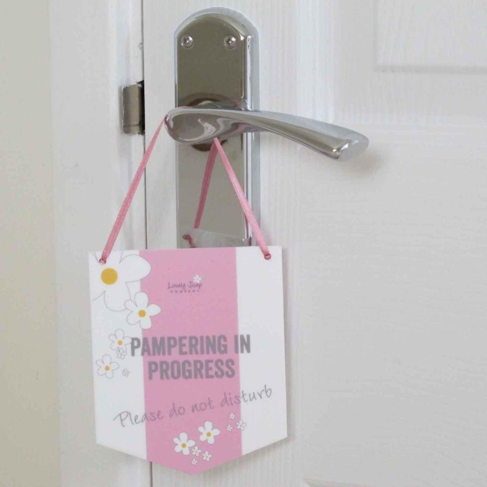 Do Not Disturb Door Hanger by Lovely Soap Co