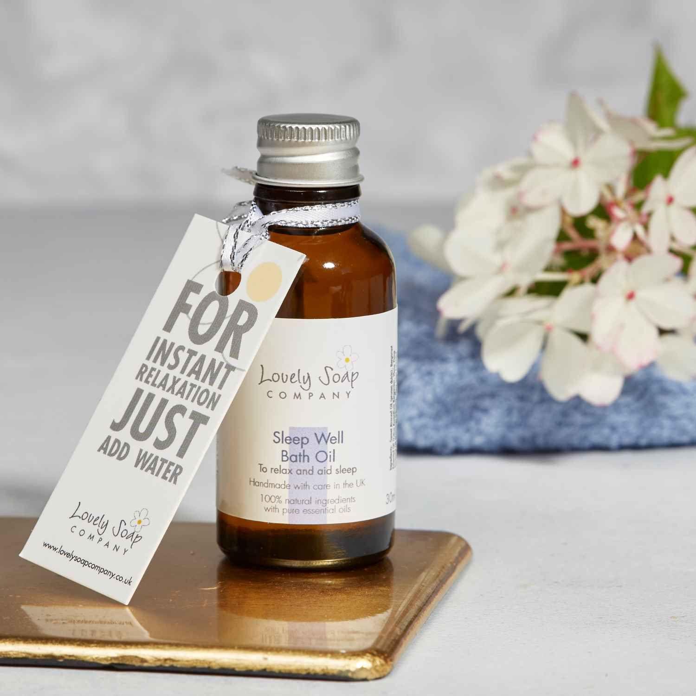 Sleep Well Bath Oil Lovely Soap Co