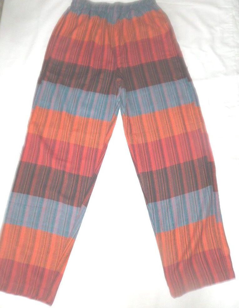Patchwork Trousers   Size M