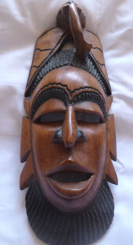 African Wall mask