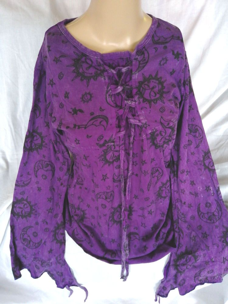 Purple Top,     Size S/M