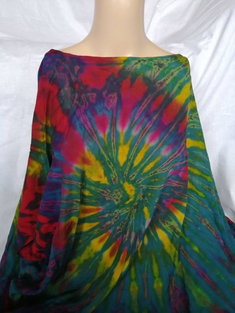 Tie-dye Hippie Top,  One Size