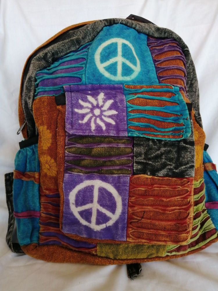 Hippy Patchwork Backpack