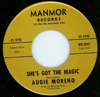 Augie Moreno - She's Got The Magic