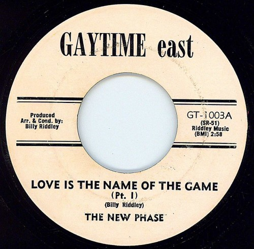 New Phase - Love Is The Name Of The Game