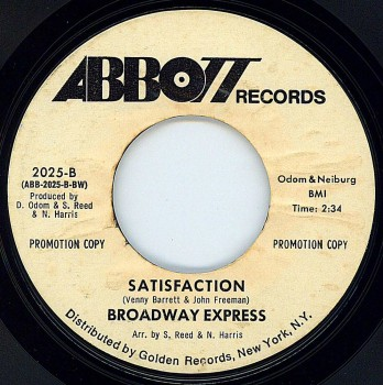 Broadway Express - Satisfaction