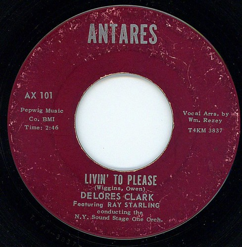 Delores Clark - Livin' To Please