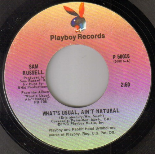 Sam Russell - What's Usual Ain't Natural