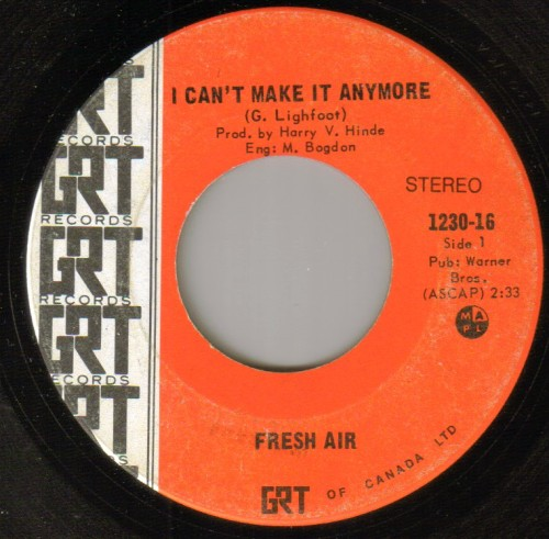 Fresh Air - I Can't Make It Anymore