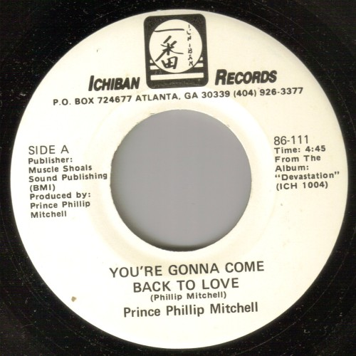 Prince Phillip Mitchell - You're Gonna Come Back