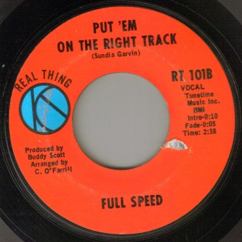 Full Speed - Put Em On The Right Track