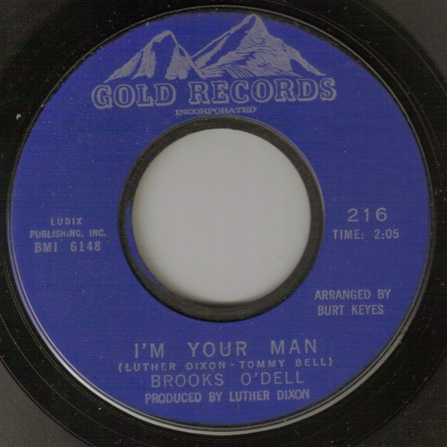 Brooks O'Dell - I'm Your Man