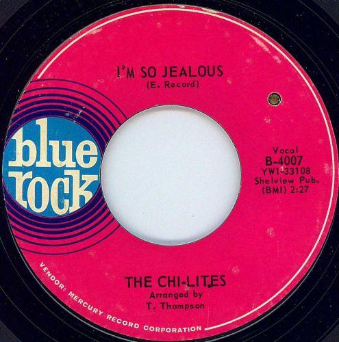CHI-LITES - I'M SO JEALOUS