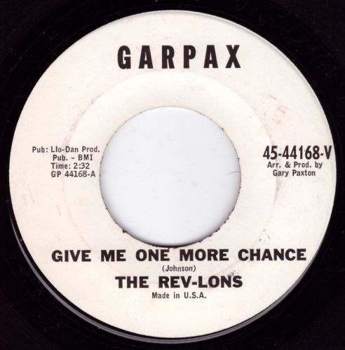 Rev-lons - Give Me One More Chance