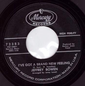 Jeffrey Bowen - I've Got A Brand New Feeling