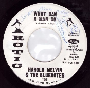 Harold Melvin & The Bluenotes - What Can A Man Do