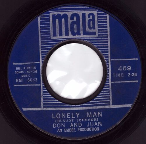 Don And Juan - Lonely Man