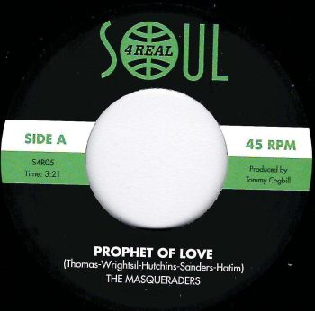 MASQUERADERS - PROPHET OF LOVE / YOU'RE THE ONE