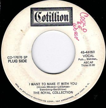 ROYAL COLLECTION - I WANT TO MAKE IT WITH YOU - DEMO