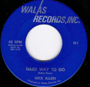 NICK ALLEN - HARD WAY TO GO