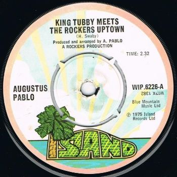 AUGUSTUS PABLO - KING TUBBY MEETS THE ROCKERS UPTOWN