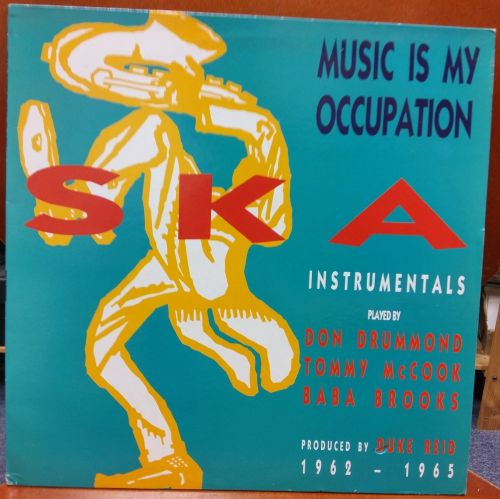 VARIOUS ARTISTS - MUSIC IS MY OCCUPATION.
