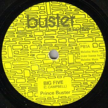 PRINCE BUSTER - BIG FIVE