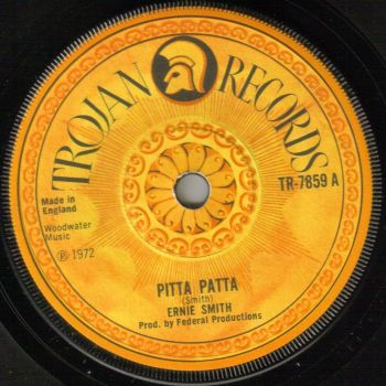 ERNIE SMITH - PITTA PATTA