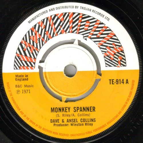 DAVE AND ANSEL COLLINS - MONKEY SPANNER