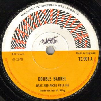 DAVE & ANSIL COLLINS - DOUBLE BARREL