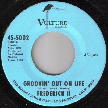 FREDERICK II - GROOVIN' OUT ON LIFE