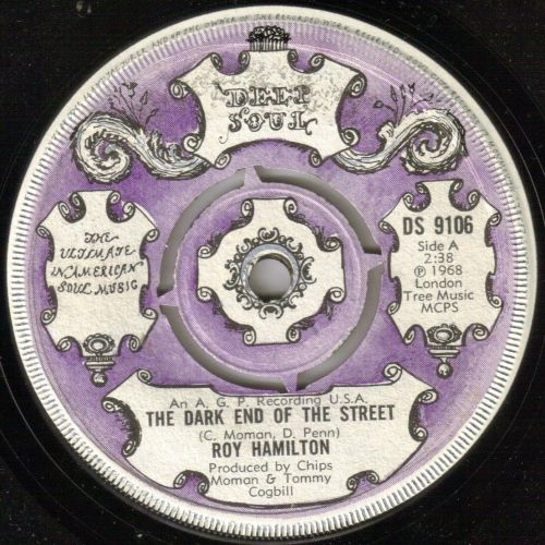 ROY HAMILTON - THE DARK END OF THE STREET