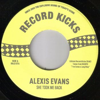 ALEXIS EVANS - SHE TOOK ME BACK