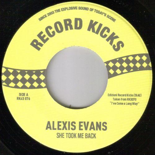 ALEXIS EVANS - SHE TOOK ME BACK