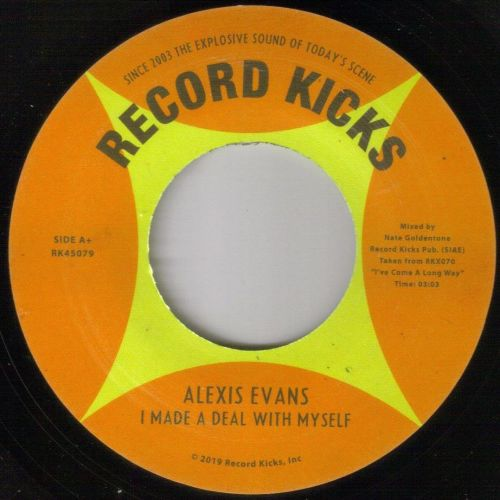 ALEXIS EVANS - I MADE A DEAL WITH MYSELF