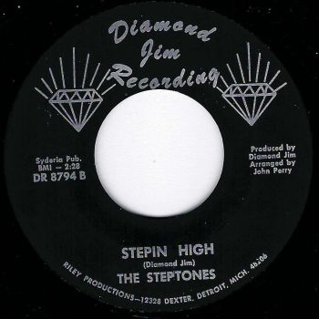 STEPTONES - LONELY ONE / STEPIN HIGH