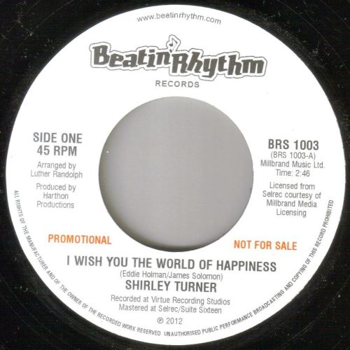 SHIRLEY TURNER - I WISH YOU A WORLD OF HAPPINESS
