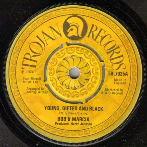 BOB AND MARCIA - YOUND, GIFTED AND BLACK