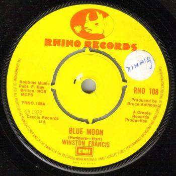 WINSTON FRANCIS - BLUE MOON