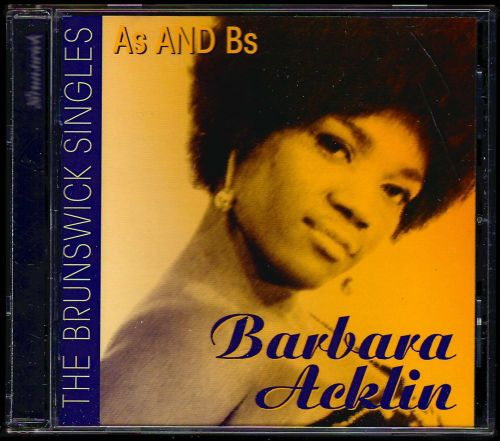 BARBARA ACKLIN - BRUNSWICK SINGLES CD