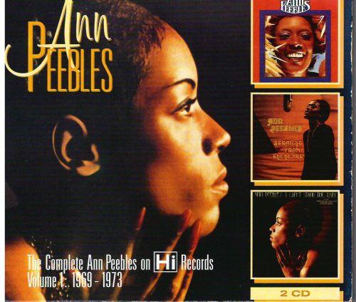 ANN PEEBLES - THE COMPLETE ANN PEEBLES ON Hi RECORDS VOL.1 1969 - 1973 CD
