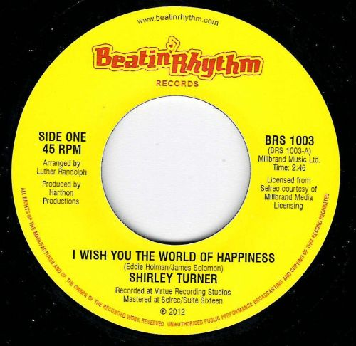 SHIRLEY TURNER - I WISH YOU THE WORLD OF HAPPINESS / PRELUDES - DEEPER THAN