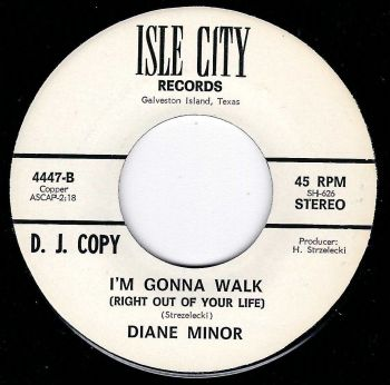 DIANE MINOR - I'M GONNA WALK (RIGHT OUT OF YOUR LIFE)