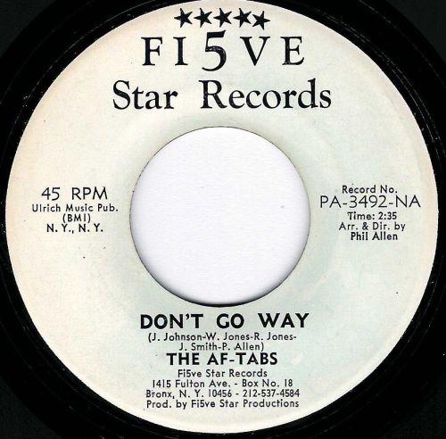AF -TABS - DON'T GO AWAY.