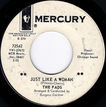 FADS - JUST LIKE A WOMAN / THE PROBLEM IS