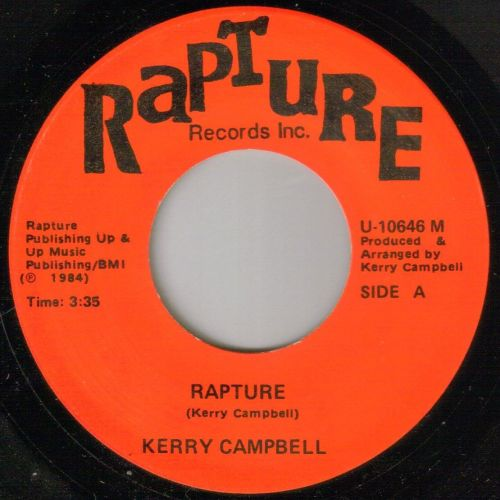 KERRY CAMPBELL - RAPTURE